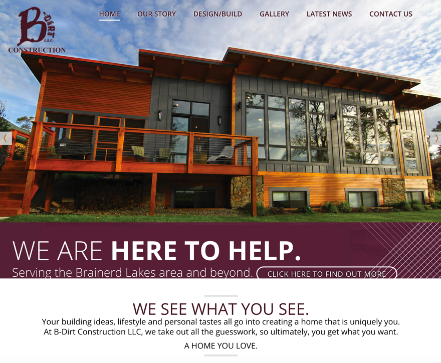 Emejing home builder website design contemporary for Homebuilder com
