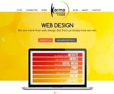 Welcome to the NEW Karma Marketing + Media