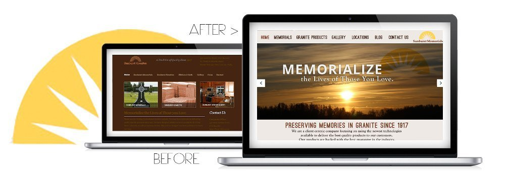 New Website Sets The Tone/Mood for Customer Focused Organization
