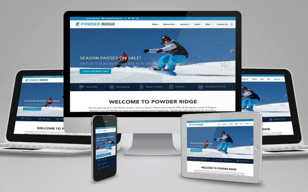 Website Design for Ski Hill – (941) 500-4530