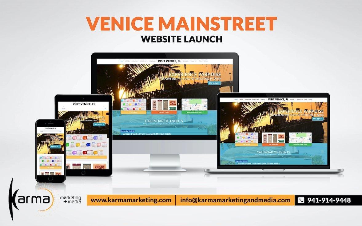 venice website design