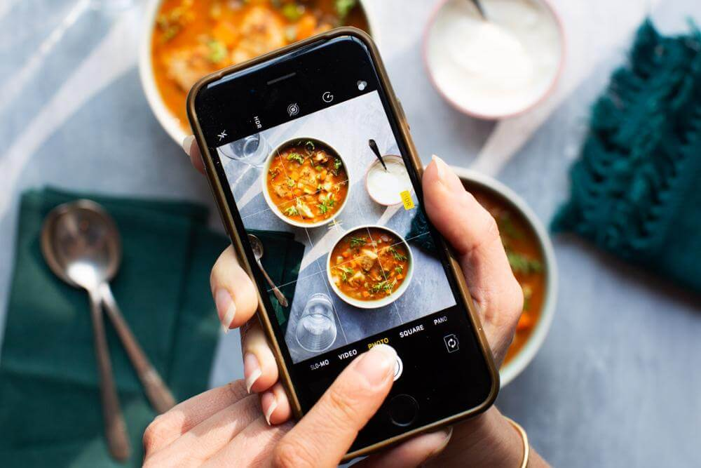 Sarasota Web Site Design – Take Better Food Photos with Your Phone (941) 500-4530