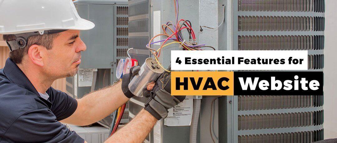 HVAC Website Design  Features (941) 500-4530