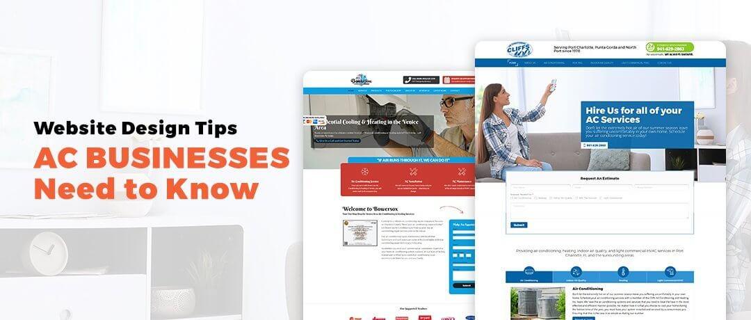 Sarasota Website Design: AC Businesses in Sarasota (941) 500-4530