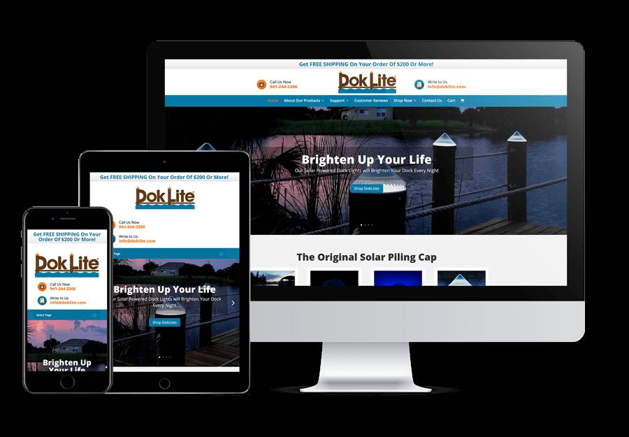 DokLite Website Design Venice