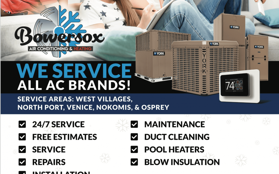 Bowersox Air Conditioning in Venice (Graphic Design Venice)