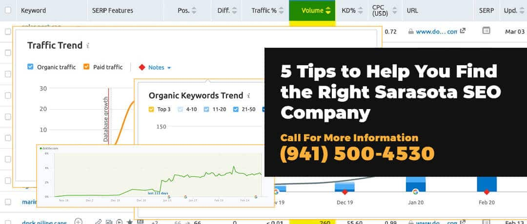 5 Tips to Help You Find the Right Sarasota SEO Company
